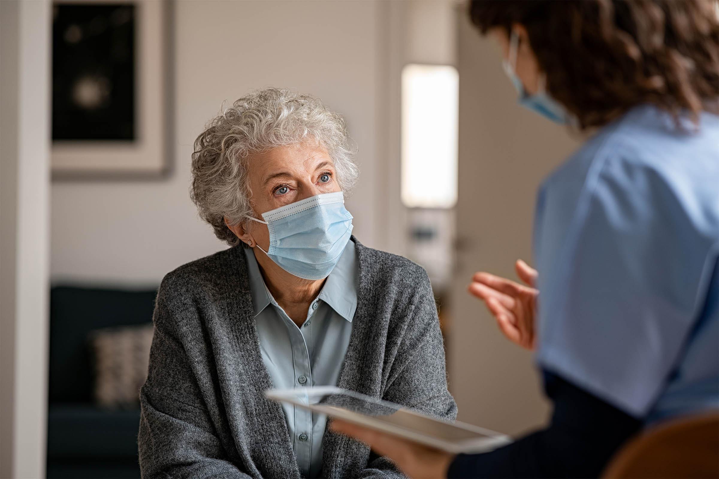 home care covid-19 precautions